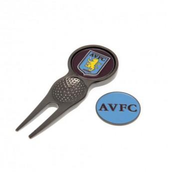 Aston Vila zestaw wskaźnik i markery Divot Tool & Marker