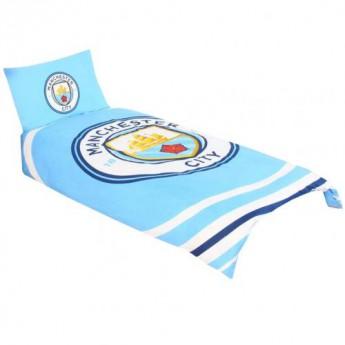 Manchester City pościel na jedno łóżko Single Duvet Set PL