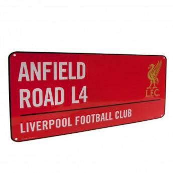 Liverpool metalowy znak Street Sign RD