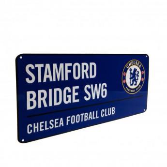 Chelsea metalowy znak Street Sign BL