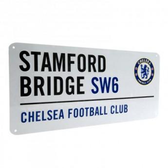 Chelsea metalowy znak Street Sign
