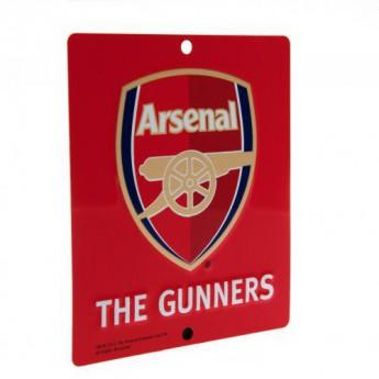 Arsenal tabliczka na okno Window Sign SQ
