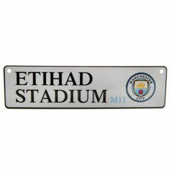 Manchester City tabliczka na okno Window Sign