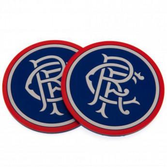 FC Rangers zestaw podkładek 2pk Coaster Set