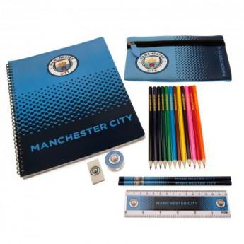 Manchester City zestaw szkolny Ultimate Stationery Set