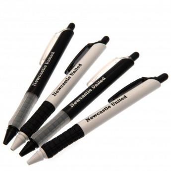 Newcastle United zestaw długopisów 4pk Pen Set