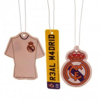 Real Madrid odświeżacz powietrza 3pk