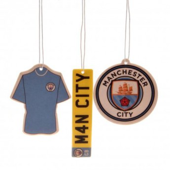 Manchester City odświeżacz powietrza 3pk