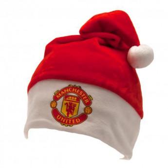 Manchester United czapka zimowa Supersoft Santa Hat