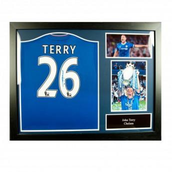 Słynni piłkarze koszulka w antyramie FC Chelsea Terry Signed Shirt (Framed)