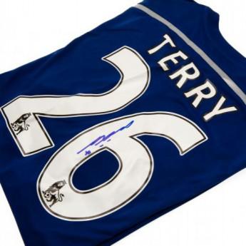 Słynni piłkarze piłkarska koszulka meczowa FC Chelsea Terry Signed Shirt