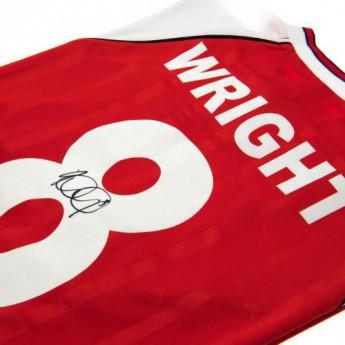 Słynni piłkarze piłkarska koszulka meczowa FC Arsenal Wright Signed Shirt