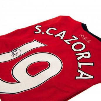 Słynni piłkarze piłkarska koszulka meczowa FC Arsenal Cazorla 2013/14 Arsenal shirt