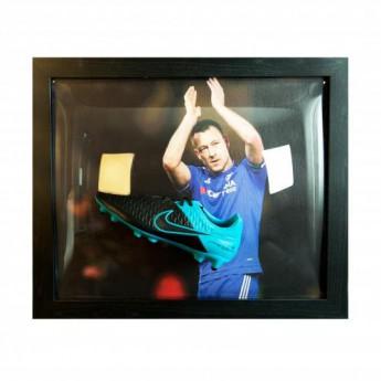 Słynni piłkarze korki w antyramie FC Chelsea Terry Signed Boot (Framed)