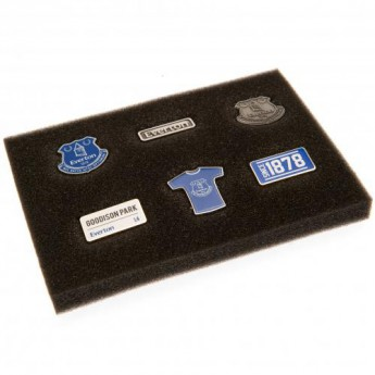 FC Everton zestaw pinesek 6 Piece Badge Set