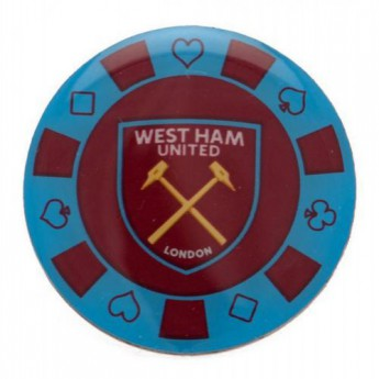 West Ham United pineska Poker Chip Badge