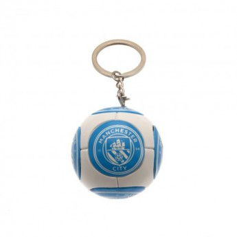 Manchester City brelok do kluczy Football Keyring