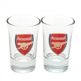 Arsenal kieliszek 2pk Shot Glass Set