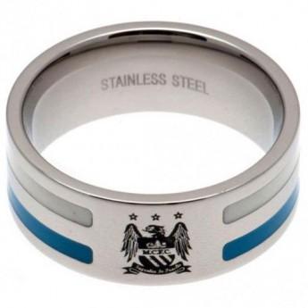 Manchester City pierścionek Colour Stripe Ring Medium EC