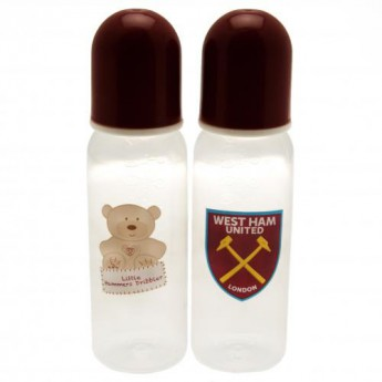 West Ham United butelka dziecięca 2pk Feeding Bottles