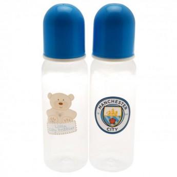 Manchester City butelka dziecięca 2pk Feeding Bottles