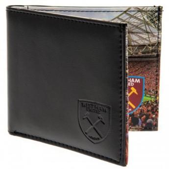 West Ham United skórzany portfel Panoramic Wallet