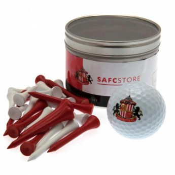 Sunderland zestaw do golfa Ball & Tee Set