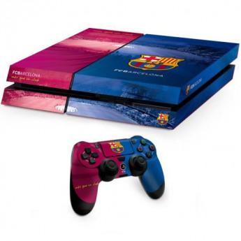 Barcelona etui do pada PS4 Skin Bundle