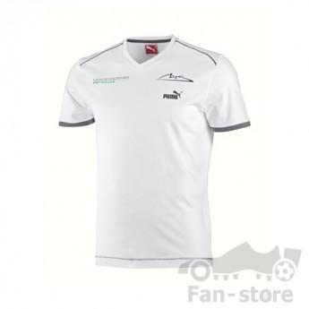 Puma Mercedes AMG Petronas koszulka Schumacher weis