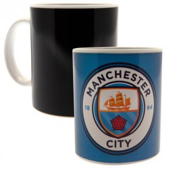 Manchester City kubek Heat Changing Mug GR
