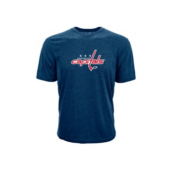 Washington Capitals koszulka męska blue Core Logo Tee