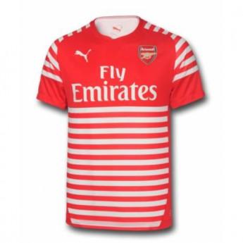 Arsenal piłkarska koszulka meczowa 16 pre-match