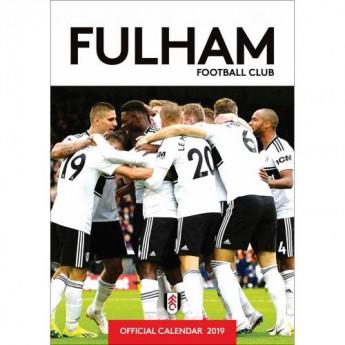 Fulham kalendarz 2019 official A3