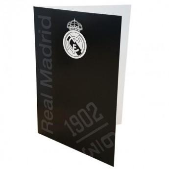Real Madrid życzenia Greetings Card BK