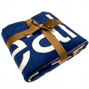 Real Madrid koc flis Sherpa Fleece Blanket