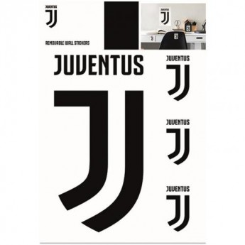 Juventus naklejka na ścianę Wall Sticker A4