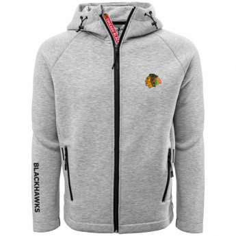 Chicago Blackhawks męska bluza z kapturem LW Titan Hoodie Grey