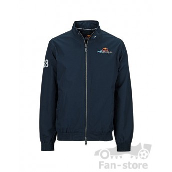 Red Bull Racing bluza z zamkiem blau