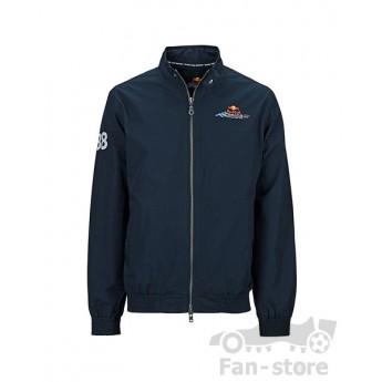 Red Bull Racing bluza z zamkiem blau