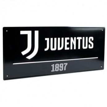Juventus tablica na ścianę Street Sign BK