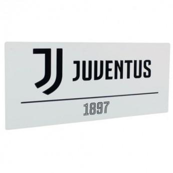Juventus tablica na ścianę Street Sign