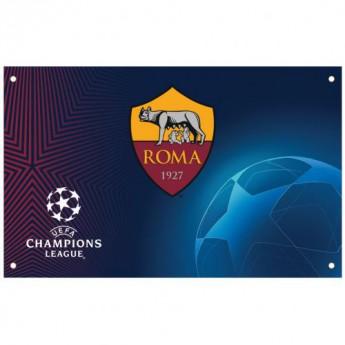 AS Roma flaga Champions League Flag
