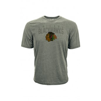 Chicago Blackhawks koszulka męska grey Shadow City Tee