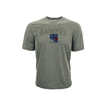 New York Rangers koszulka męska grey Shadow City Tee