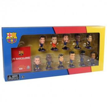 Barcelona zestaw figurek SoccerStarz Team Pack