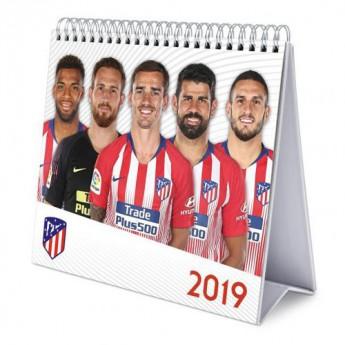 Atletico Madrid kalendarz Desktop Calendar 2019
