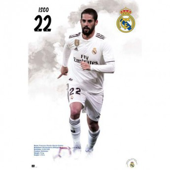 Real Madrid plakat Poster Isco 59