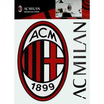 AC Milan naklejka na ścianę Wall Sticker A4
