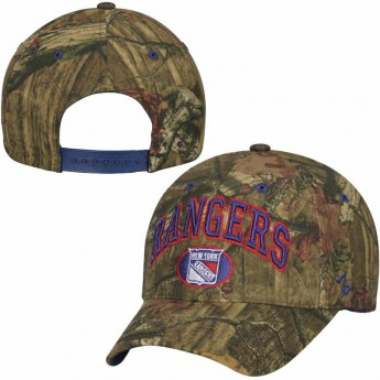 New York Rangers czapka baseballówka Camo Sport Snap Adjustable