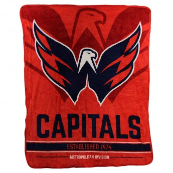 Washington Capitals koc Super Plush Throw